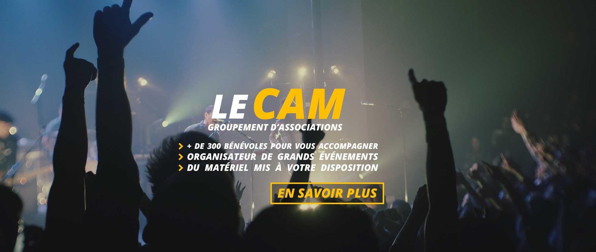 Le CAM – Accueil – organisation d'événementiel