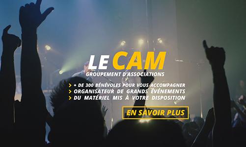 Ouverture officielle du site internet du CAM